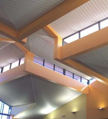 METAL WALL, FASCIA CLADDING AND LOUVRES
