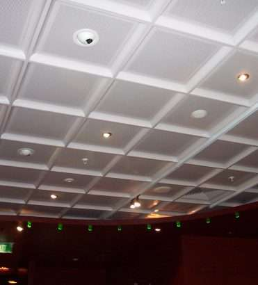 ACOUSTIC METAL CEILING TILES